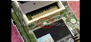 Disassemble an HP iPAQ h2210 or h2215 series PDA