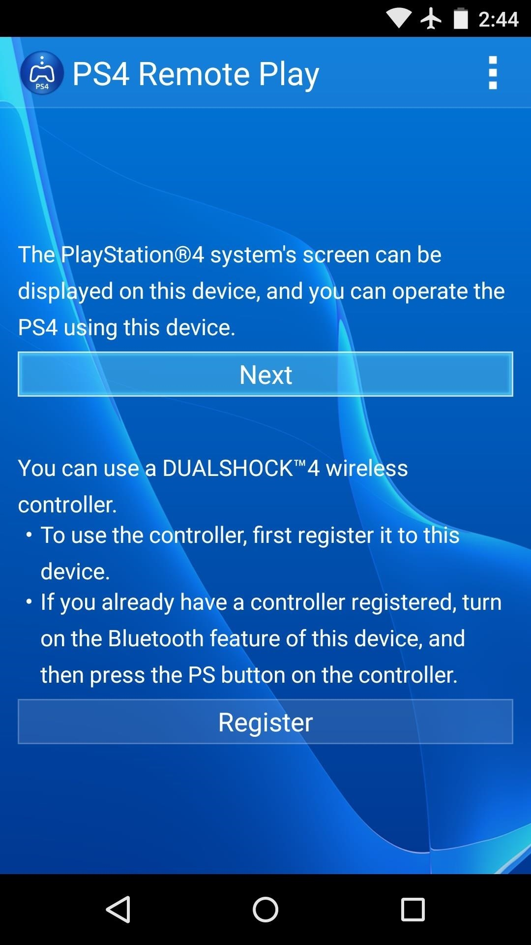 How To Play Your Favorite Ps4 Games Remotely On Any Android Device Playstation 4 Block Diagram Step 3sign Into Account