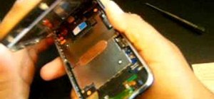Diassemble & open up your iPhone 3G