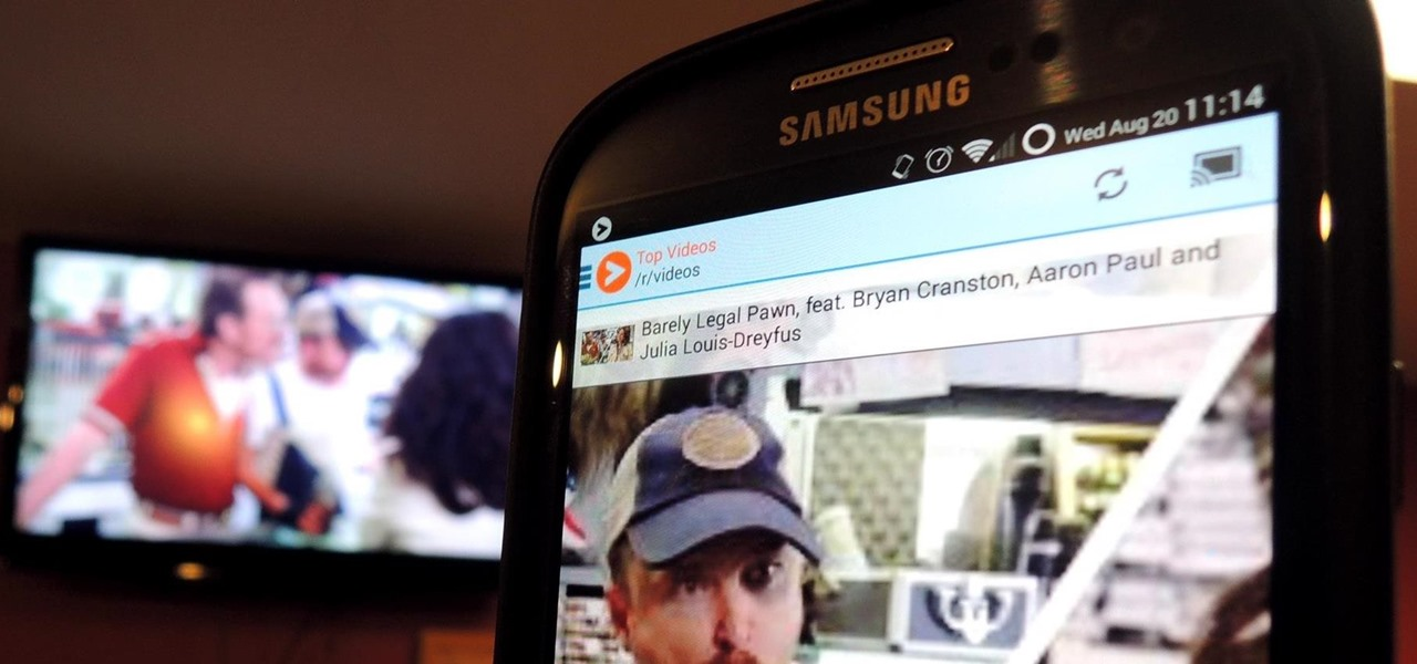 Cast Videos from Your Favorite Subreddit to Your TV with Chromecast