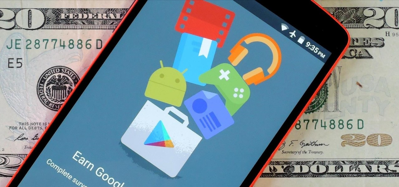 Earn Free Google Play Credits on Android by Filling Out Surveys