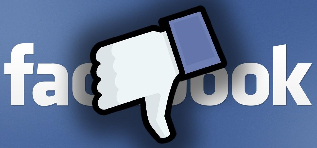 "Finally ""Thumbs Down"" Things You Dislike on Facebook"