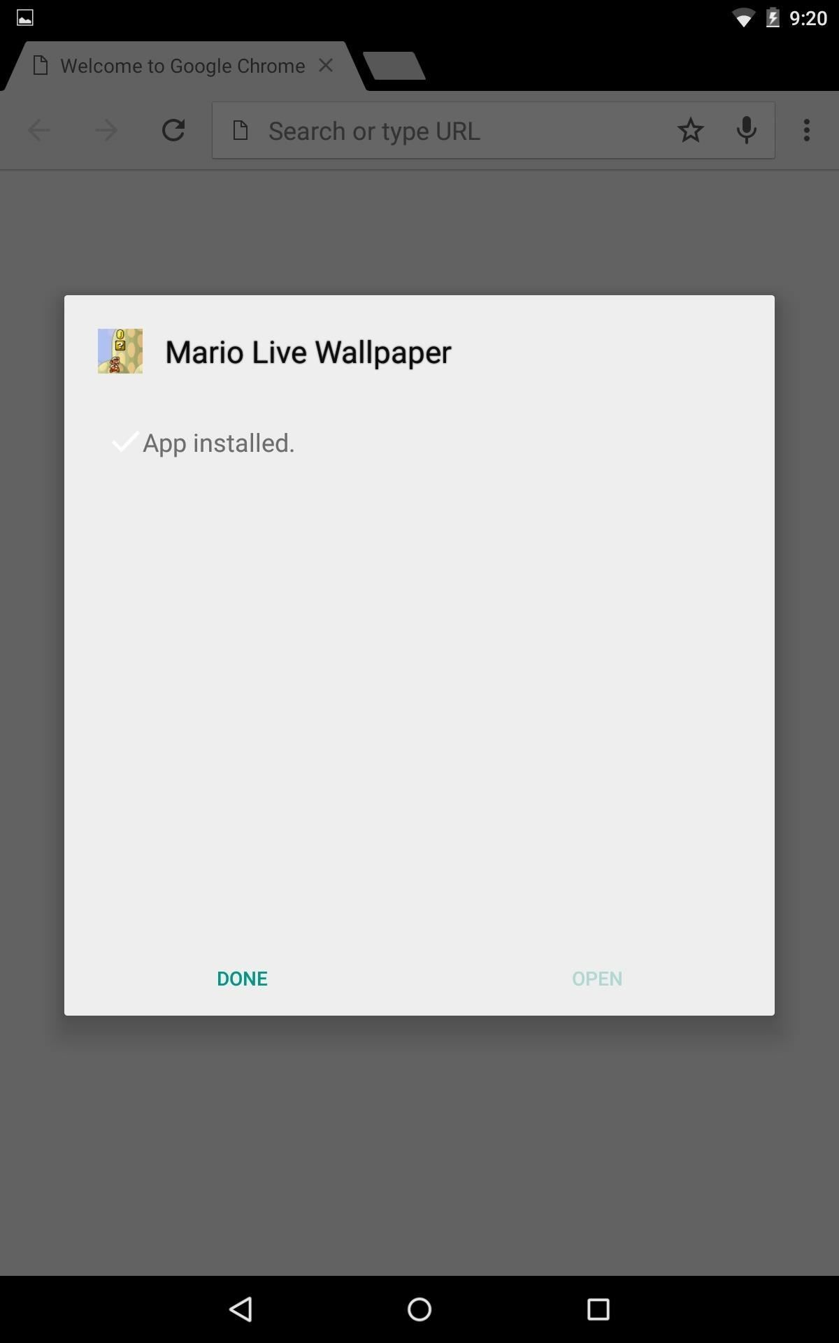 Mario Live Wallpaper: Classic Side-Scrolling Action for Your Home or Lock Screen