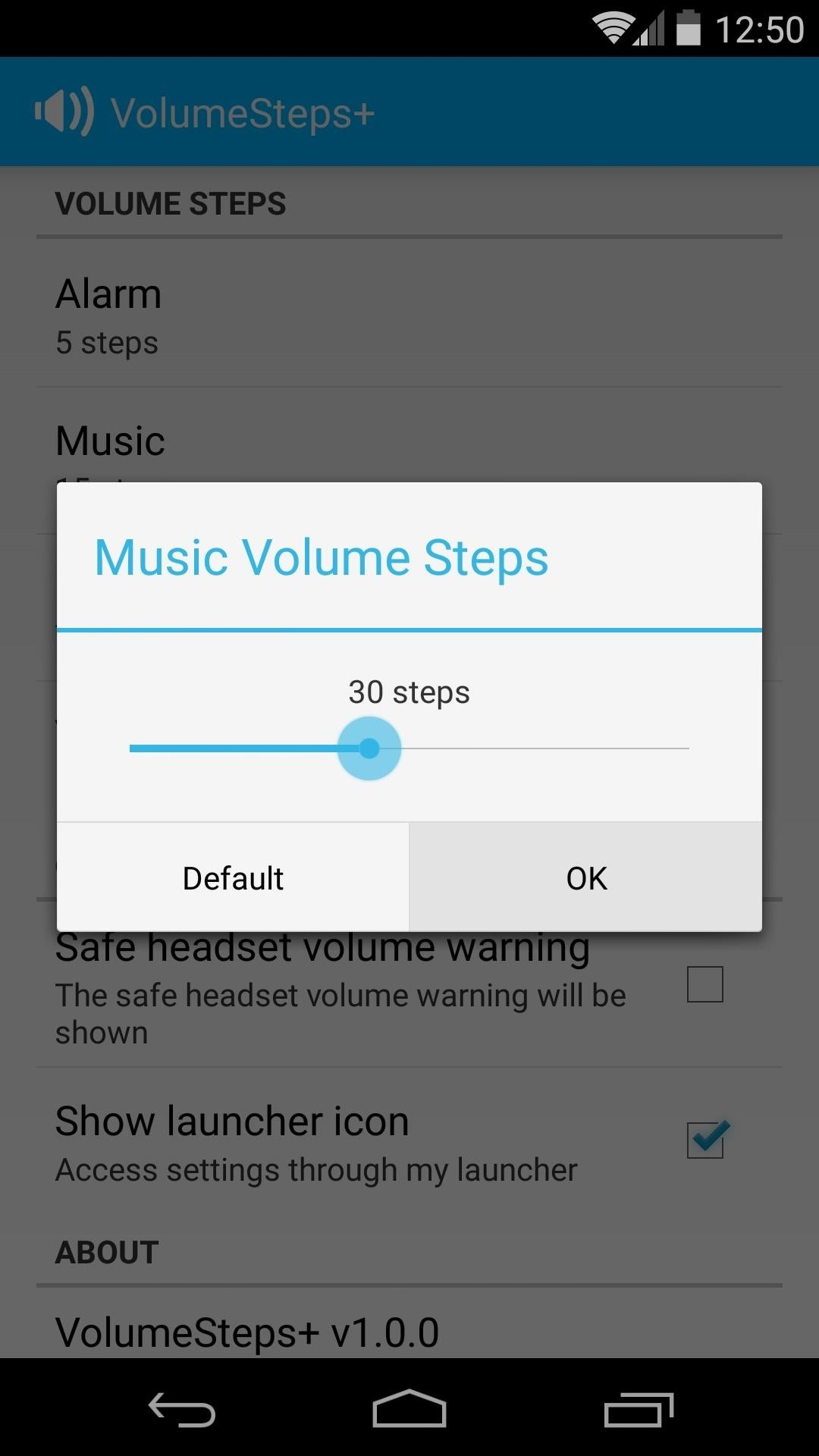 Get Total Control Over Android's Volume Slider Precision