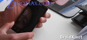 Hack into the bootloader on the Motorola Droid X