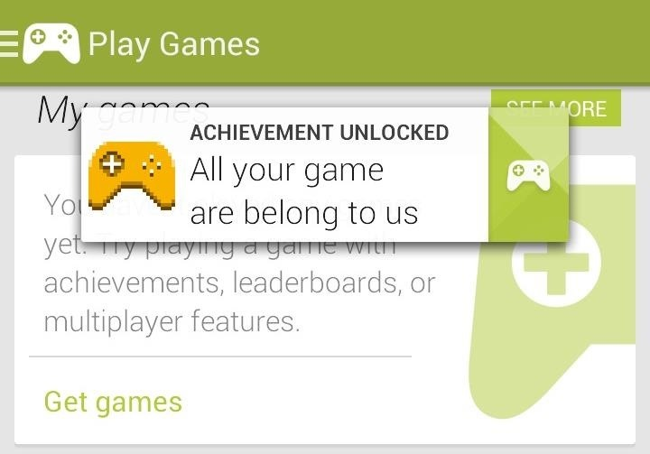 "How to Unlock the ""All Your Game Are Belong to Us"" Achievement on Your Samsung Galaxy S3"
