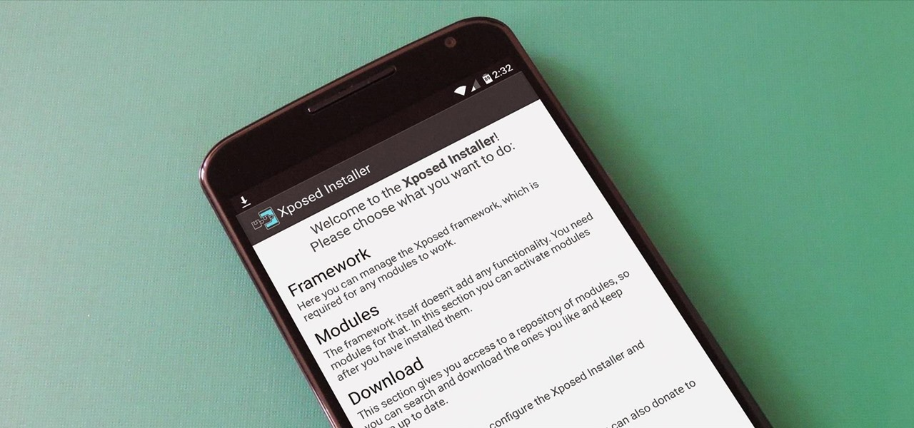 How to Install the Xposed Framework on Android Lollipop