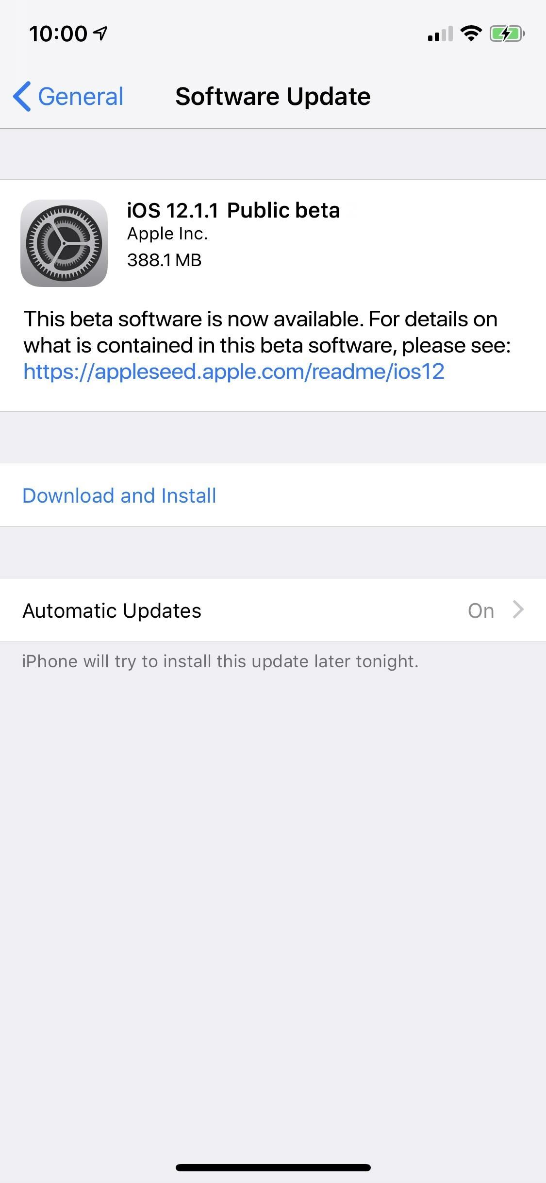 Apple Just Released the First Public Beta for iOS 12.1.1 with FaceTime Updates