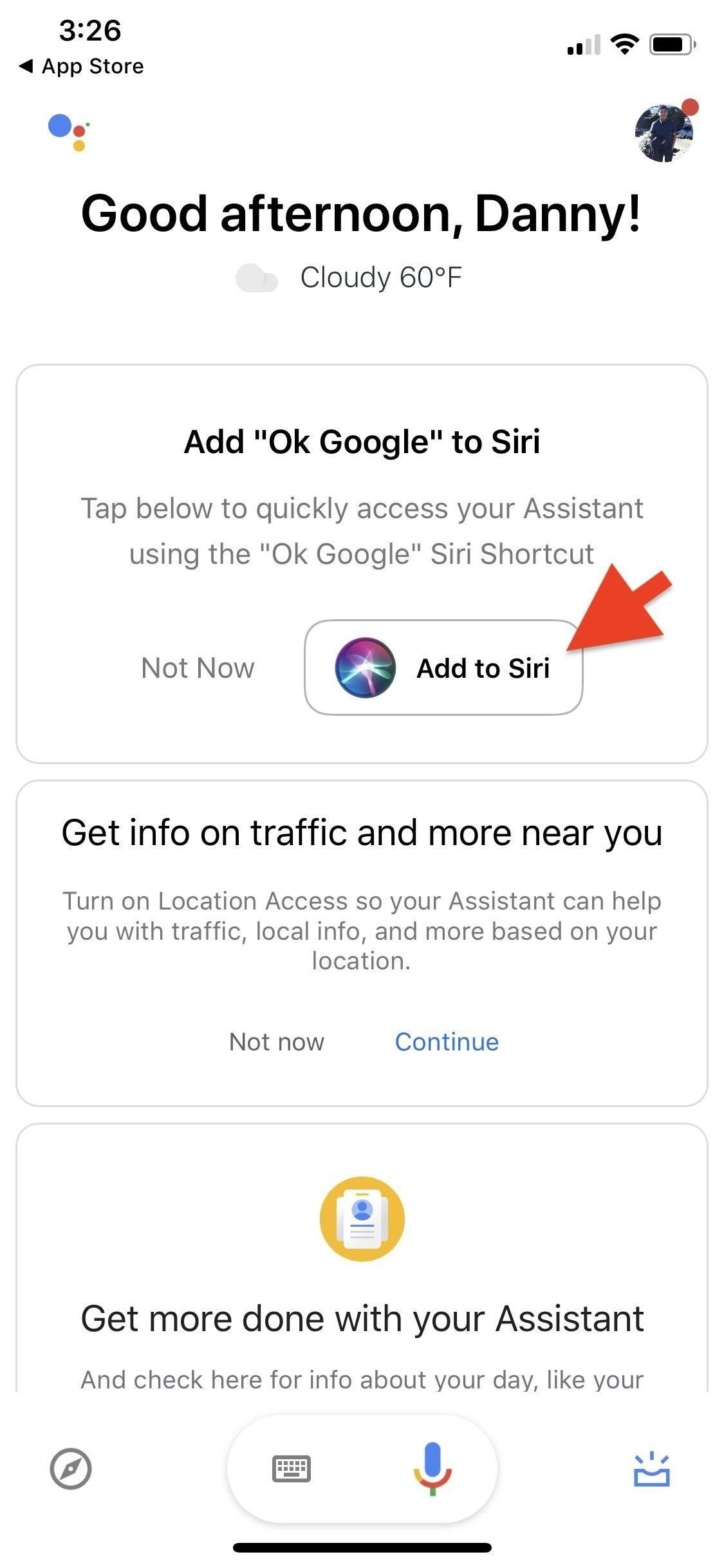 How to Make Siri Run Google Assistant Commands on Your