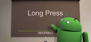 Long press on Android cell phones (2.0)