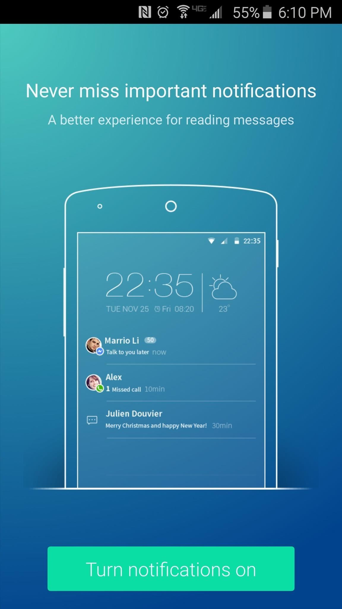 Get a Feature-Packed, iPhone-Like Lock Screen for Your Galaxy S6 or Other Android Device