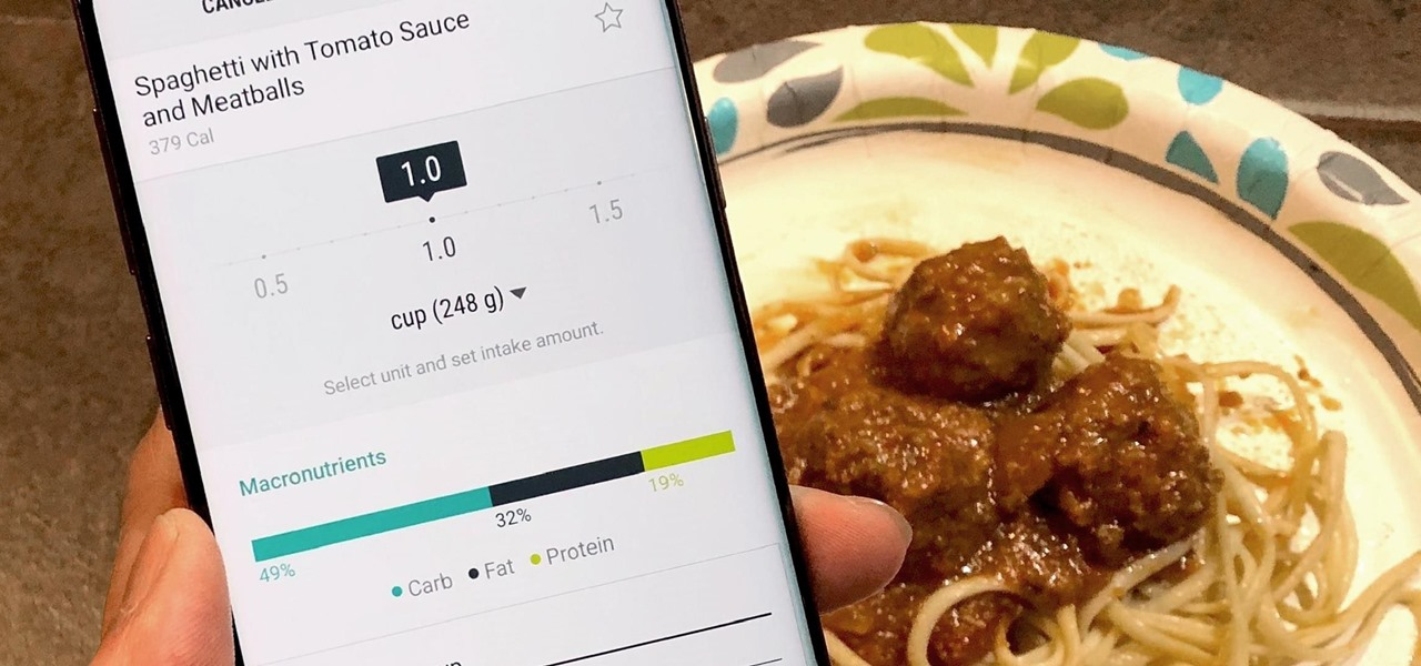 Count Calories & Log Nutrition with Samsung Health
