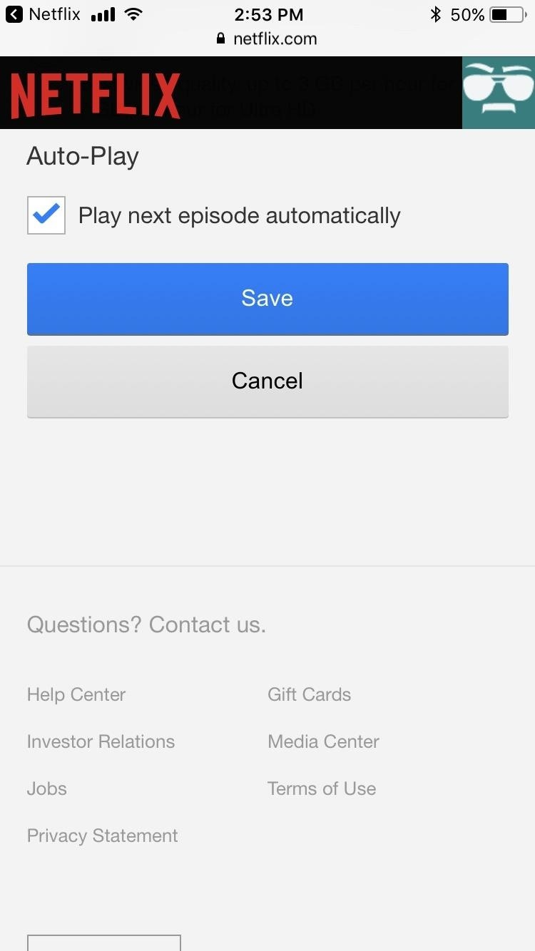 How to Disable Netflix Auto-Play from Within the Mobile App