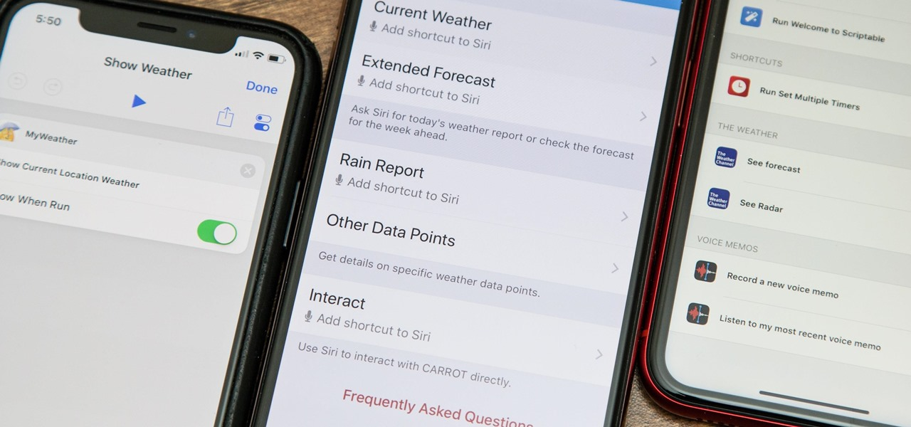 Use Siri with a Third-Party Weather App Instead of Apple's on Your iPhone