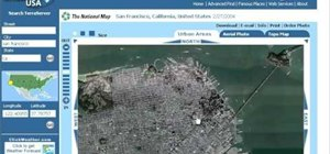 Use TerraServer to get satellite images