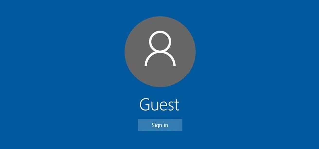 Restrict Guest Users to One App in Windows 10