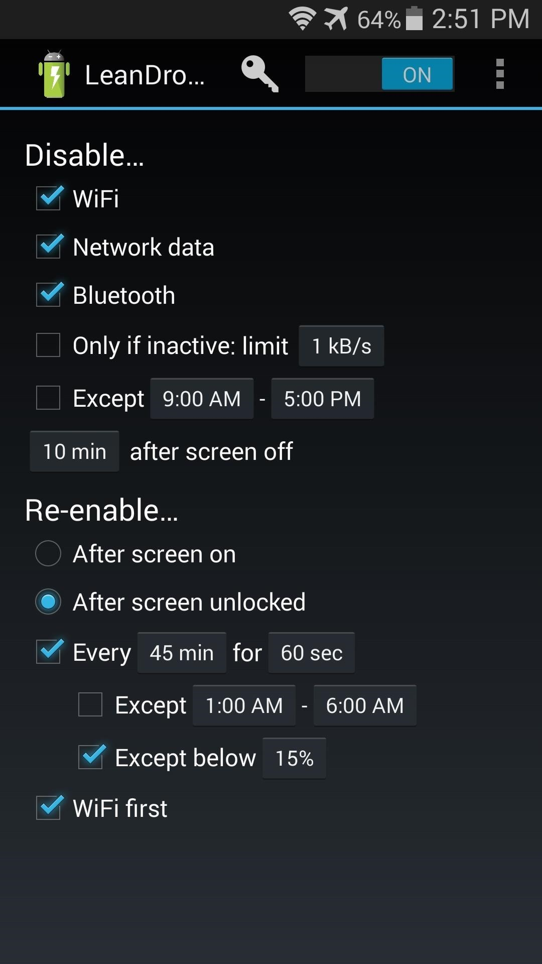 How to Increase Battery Life on Your Samsung Galaxy S5 by Automating Data