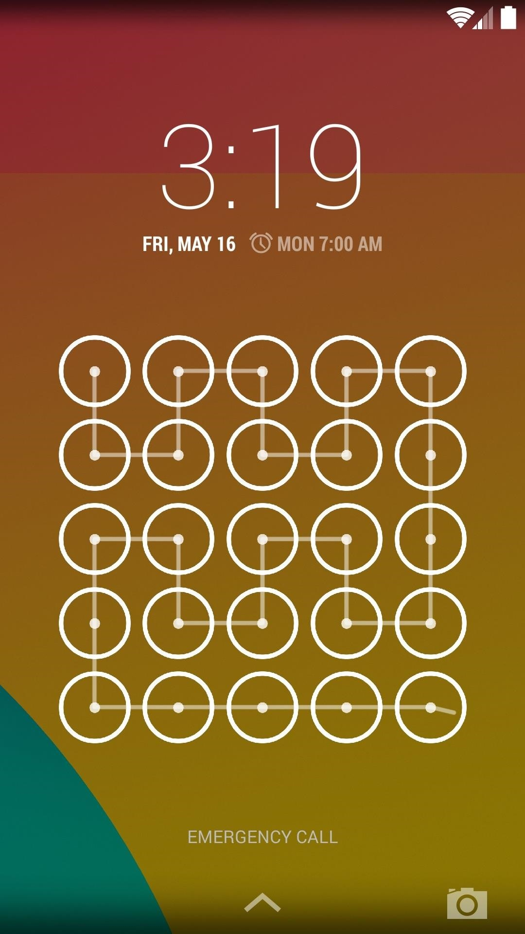 Increase Pattern Lock Screen Security on Your Nexus 5 with Larger Grid Sizes