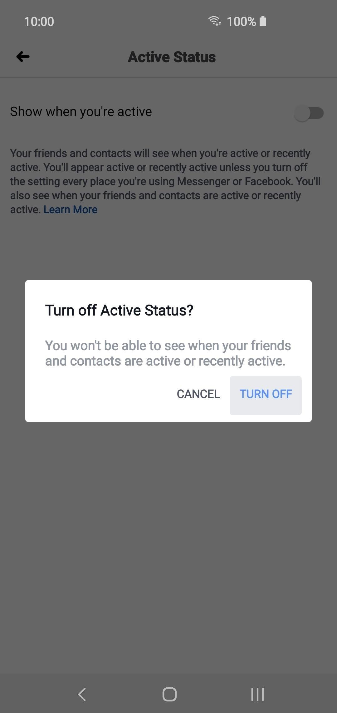 How to Completely Disable Your Active Status on Facebook & Messenger