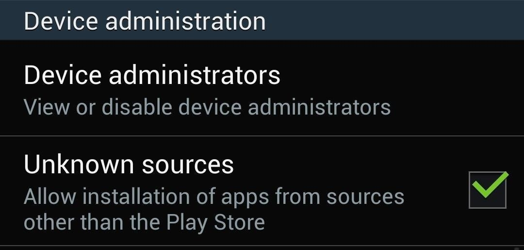 "How to Enable ""Unknown Sources"" in Android to Install Apps Outside the Play Store"