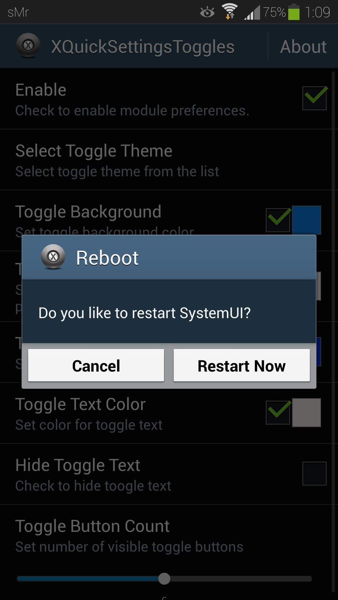 How to Customize the Quick Settings Toggles on Your Samsung Galaxy S4 with Color Themes