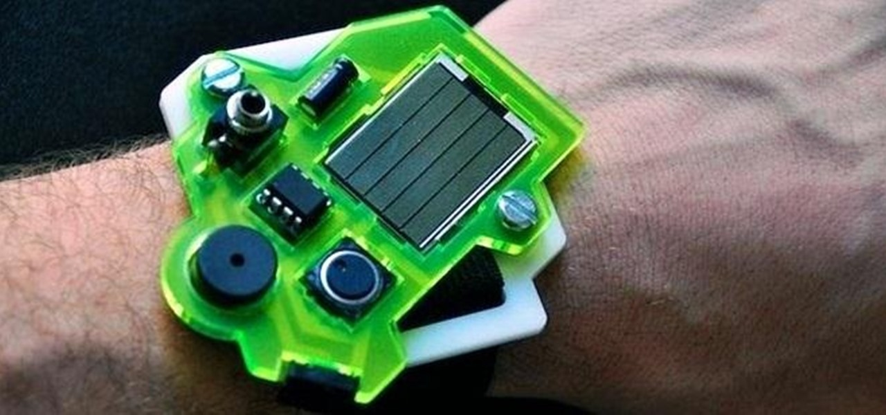 Build a Solar-Powered Mini-Synthesizer Wristwatch