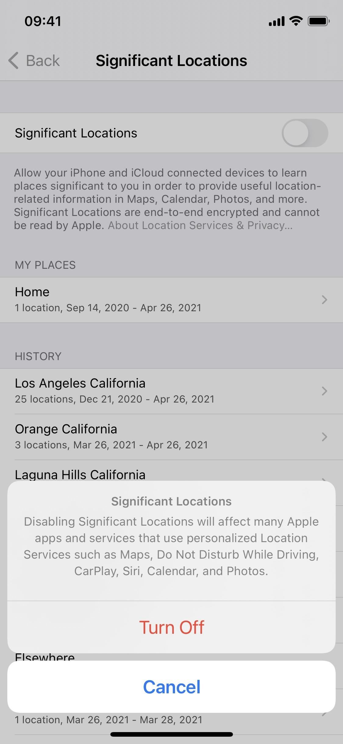 Your iPhone Uses a Hidden Tracker to Keep Tabs on Your Recent & Most Visited Locations — But You Can Stop It