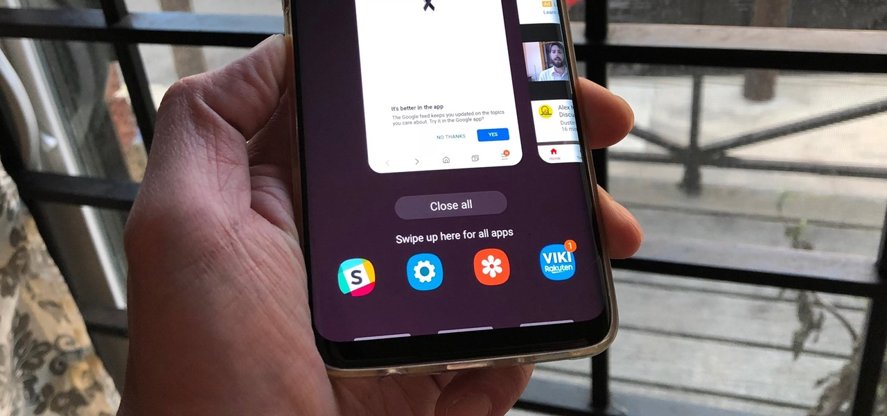 Enable Samsung's New Swipe Gestures on Your Galaxy in One UI