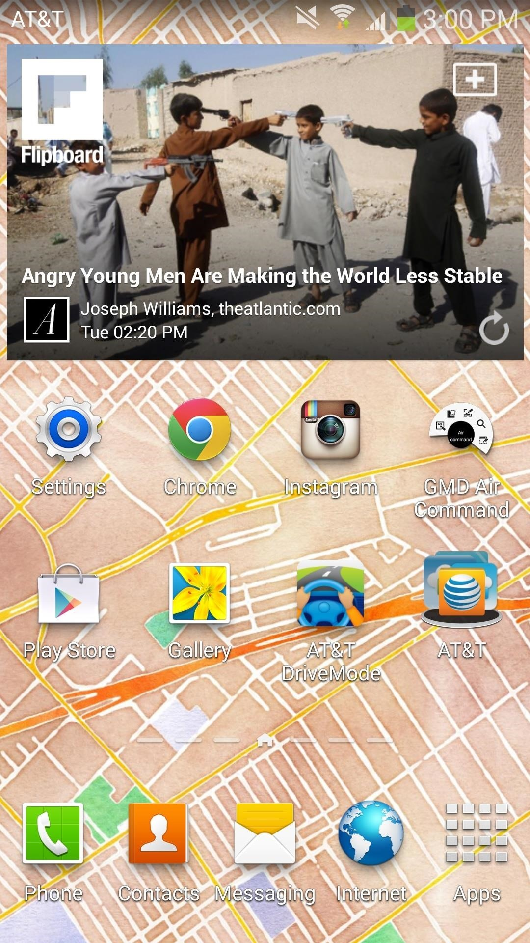 How to Set Your Current Location & Weather Forecast as Your Galaxy Note 3's Wallpaper