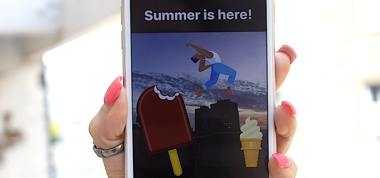 How to Change the IG Story Summer Ice Cream Sticker to a Magnum Bar