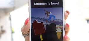 Instagram 101 how to zoom in out in instagram stories instagram 101 how to change the ig story summer ice cream sticker to a magnum bar ccuart Images