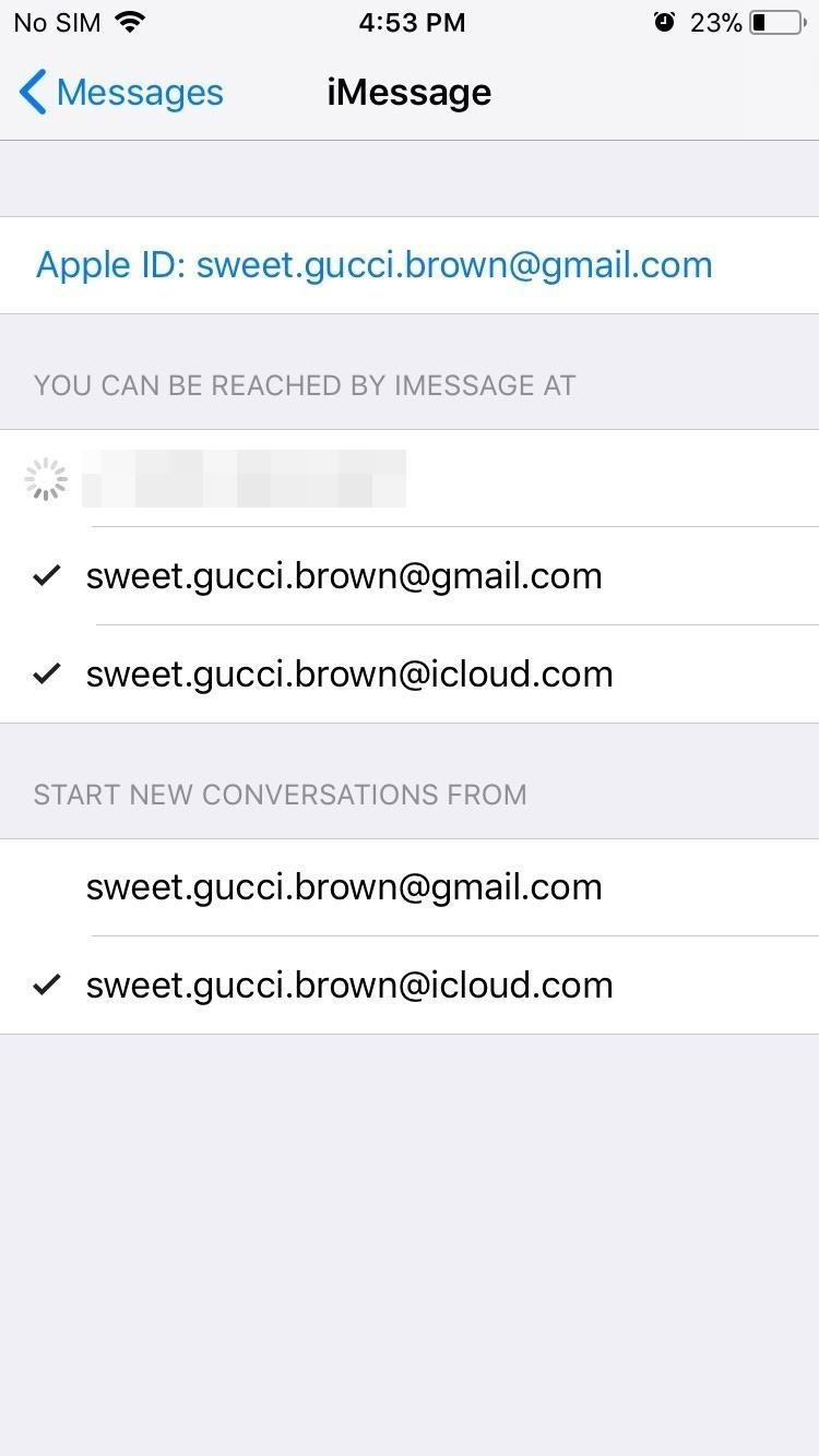 How to Log into FaceTime & Messages in iOS 11 with Alternate iCloud Accounts