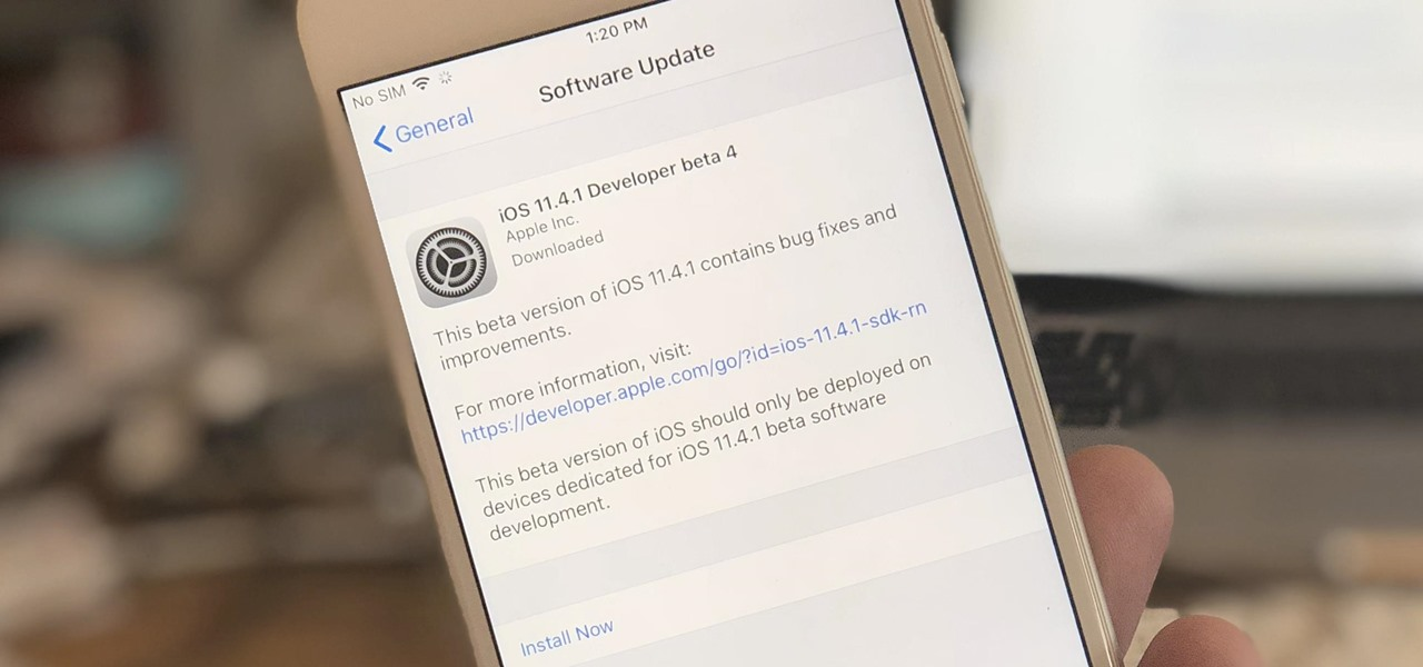 iOS 11.4.1 Beta 4 Released for iPhones, Includes Only 'Bug Fixes' & Unknown Improvements