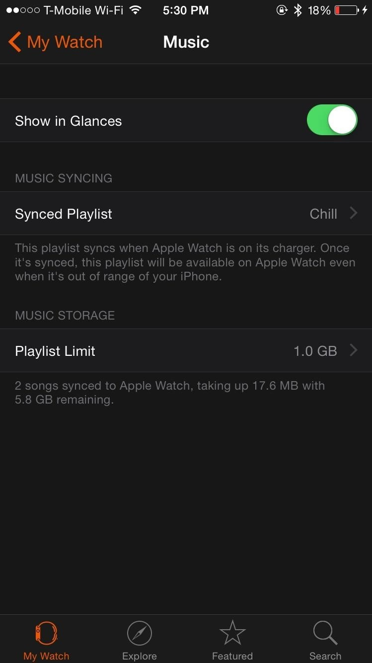 How to Load Music Directly onto Your Apple Watch to Play with Bluetooth Headphones
