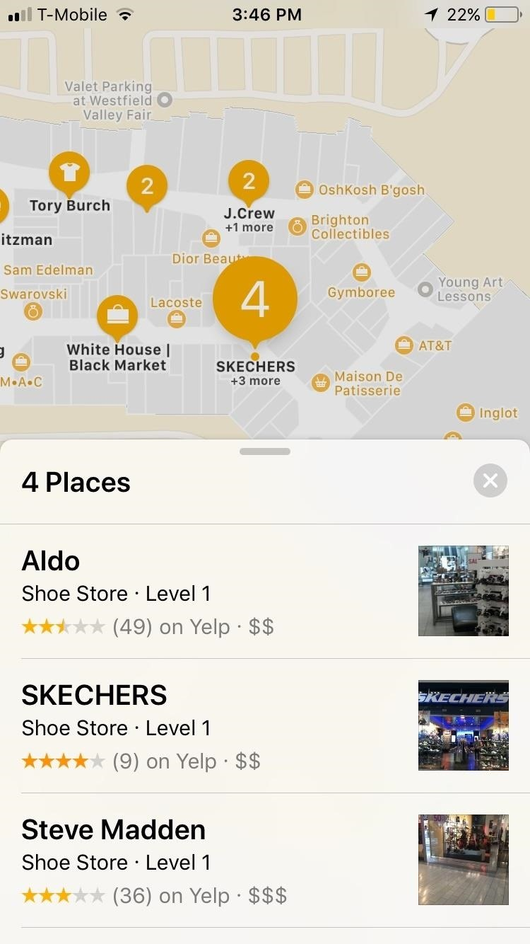How to Navigate Indoor Mall & Airport Floorplans in Apple Maps for iOS 11