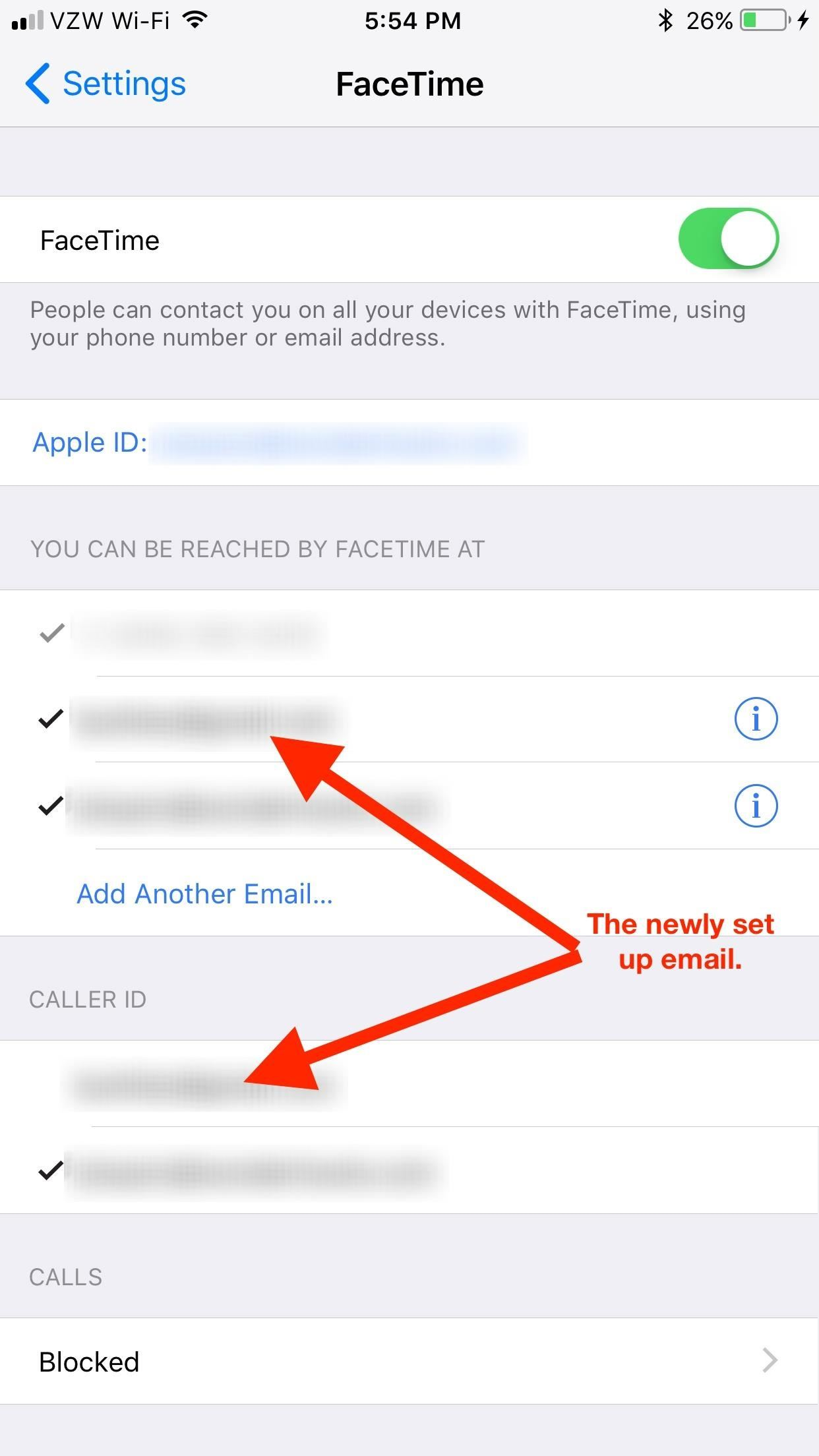FaceTime 101: How to Add or Remove Email Addresses to Be Reached At on Your iPhone