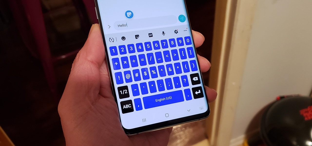 Stop Squinting at Your Galaxy's Keyboard & Type Faster with This Simple Setting