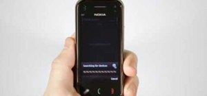 Pair a Bluetooth device to a Nokia N97 Mini smartphone