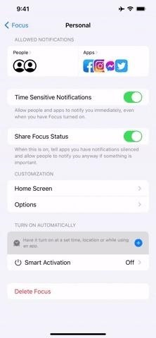How to Mute Notifications for Everything but Your Favorite Contacts in iOS 15
