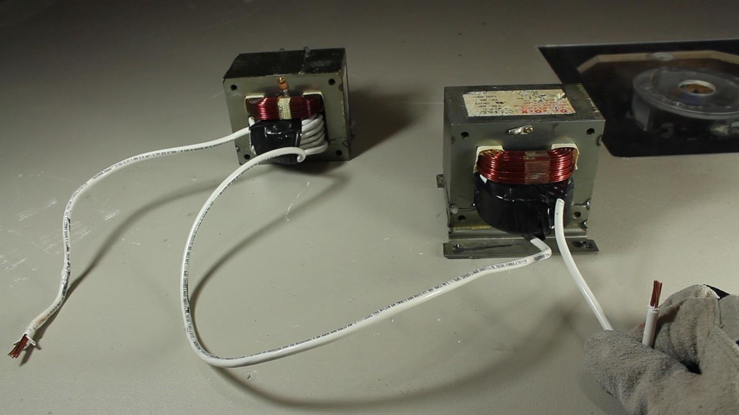 Сварочный трансформатор для сварки проводов
