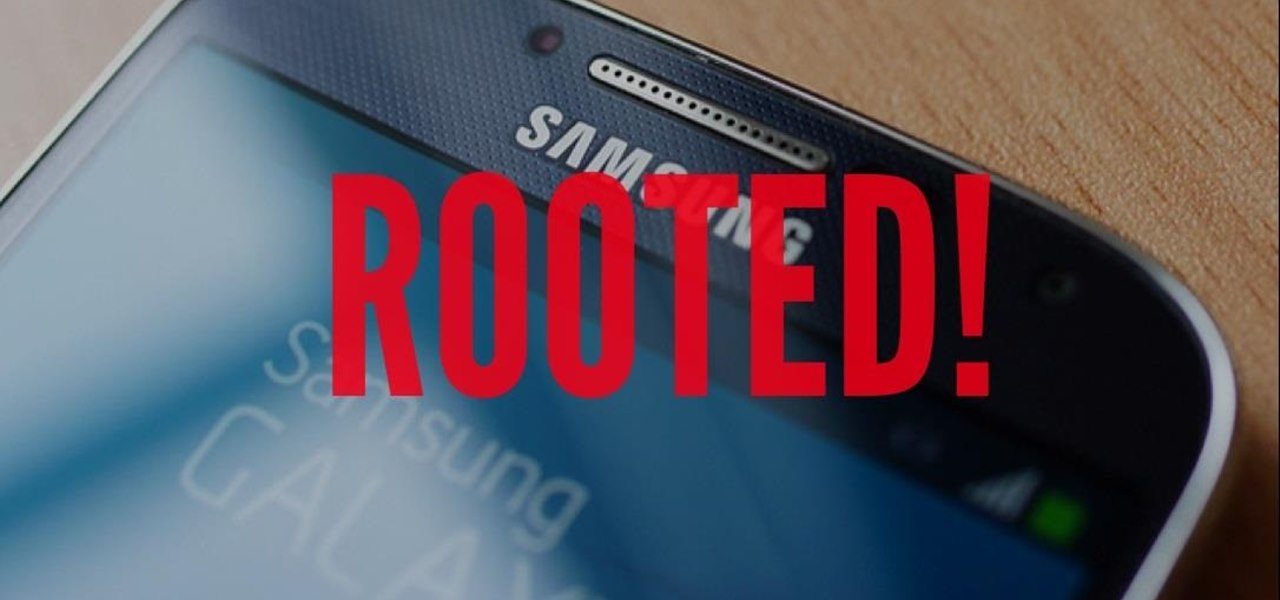 Root Your Brand Spanking New Samsung Galaxy S4