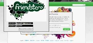 Hack a Friendster account password