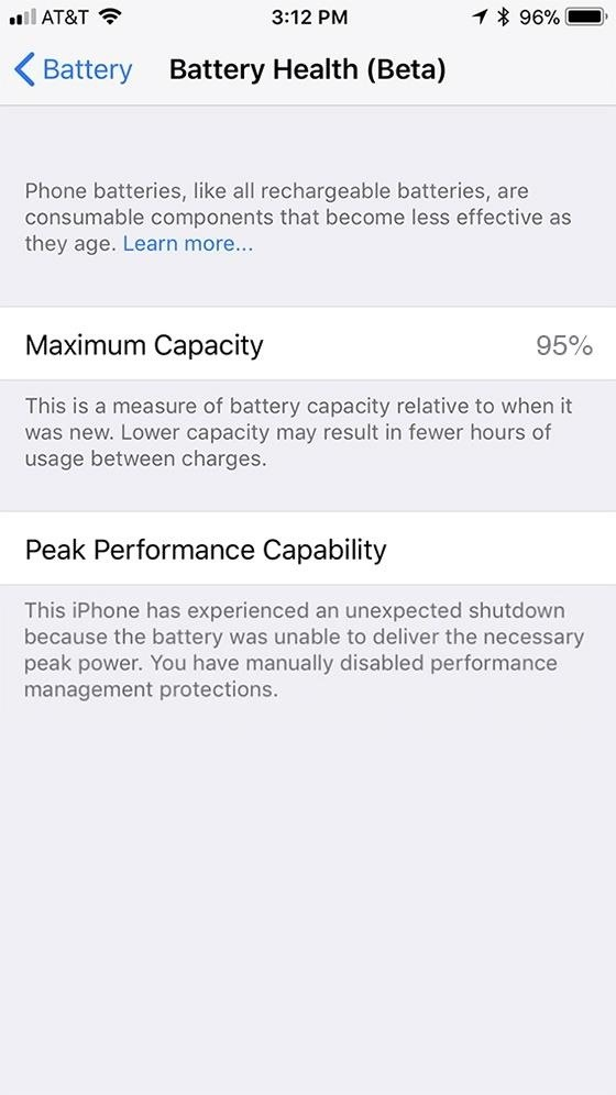 How to Disable Performance Throttling on Your iPhone Due to Battery Issues