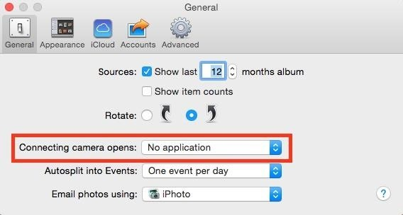 How to Stop iPhoto from Automatically Launching When You Plug in Your iPhone
