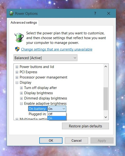 How to Disable Adaptive Brightness on Windows 10 for Maximum Screen