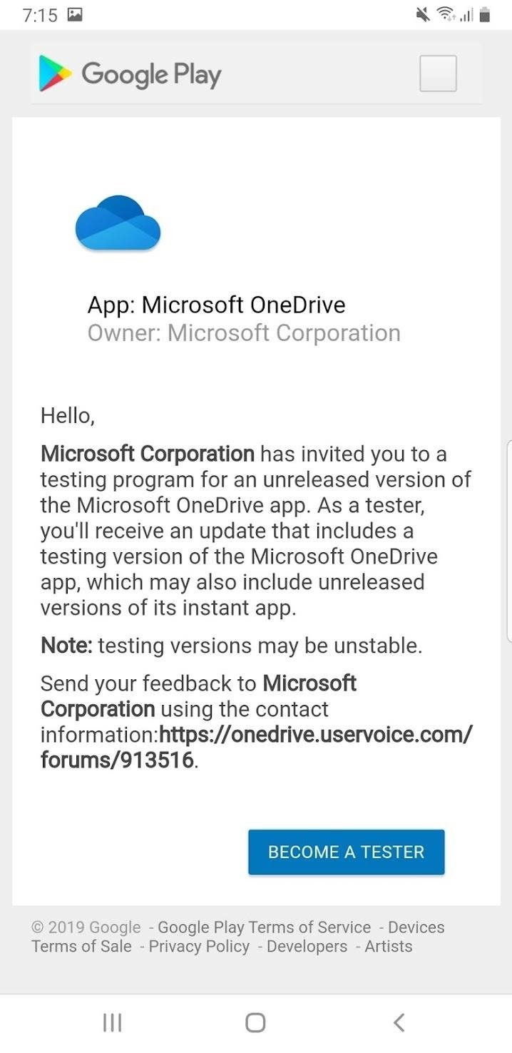 How to Become a OneDrive Beta Tester & Get New Features Before Everyone Else