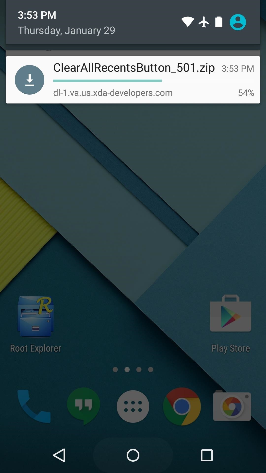 Clear All Items from Your Nexus 5's Overview Screen in Just One Tap
