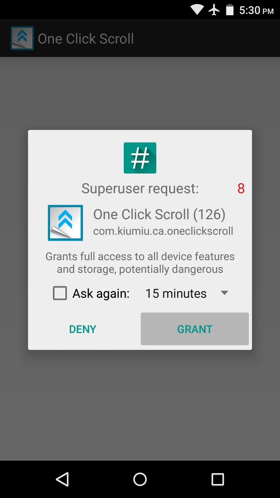 Add Tap-to-Scroll Functionality on Android to Quickly Jump to the Top or Bottom of Any Page