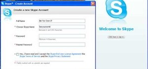 Install and use Skype as a free Internet phone