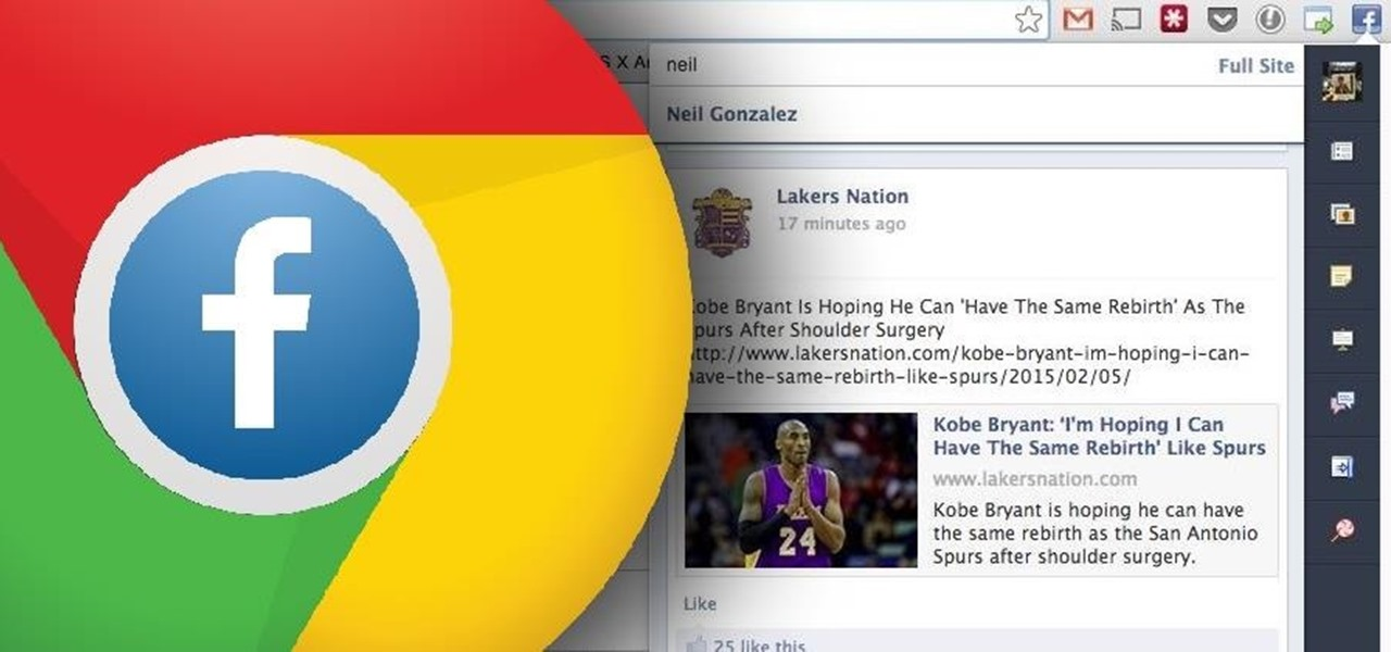 Facebook Better Using Google Chrome